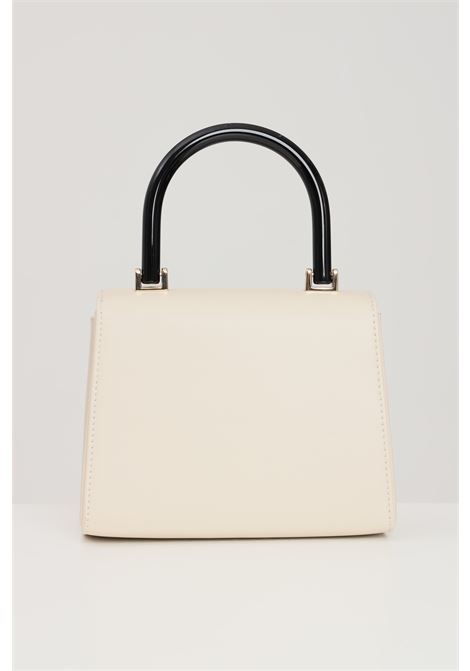 Beige women's bag with chain shoulder strap and contrasting handle love moschino LOVE MOSCHINO | Bag | JC4095PP1D-LA3110
