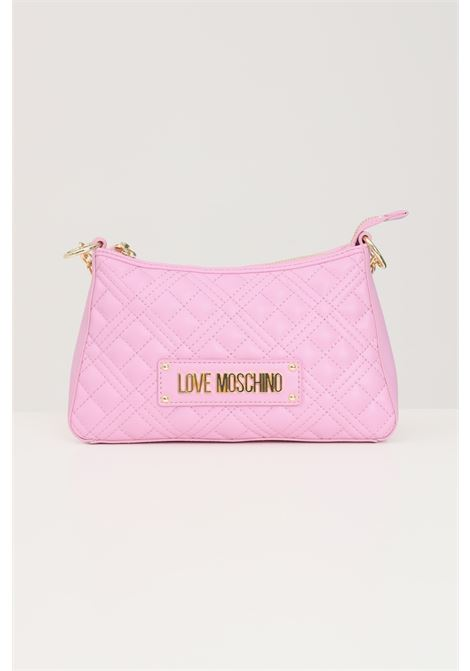 Pink women's bag with chain handle and removable shoulder strap love moschino LOVE MOSCHINO | Bag | JC4135PP1D-LA0607