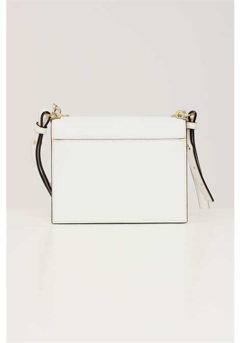 Cream women's bag with shoulder strap and gold hearts chain love moschino LOVE MOSCHINO | Bag | JC4196PP1D-LK0100