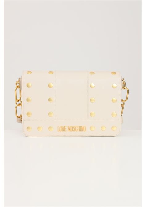 Beige women's bag with inner removable shoulder strap love moschino LOVE MOSCHINO | Bag | JC4218PP1D-LM0110