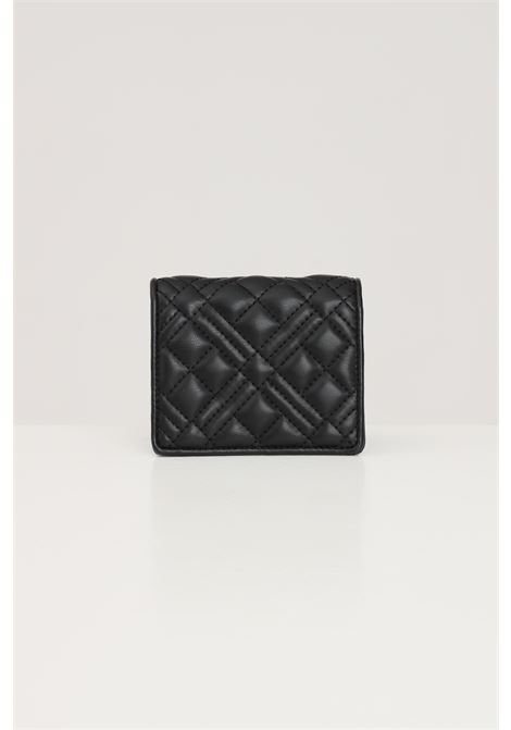 Black women's wallet with quilted effect love moschino LOVE MOSCHINO | Wallet | JC5601PP1D-LA0000