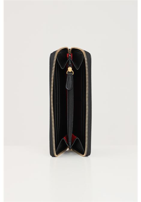 Black women's wallet with gold logo zip closure love moschino LOVE MOSCHINO | Wallet | JC5647PP1D-LL0000