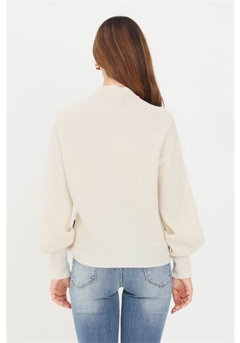 Cream women's sweater by love moschino with bow LOVE MOSCHINO | Knitwear | WSD2090X1436A03