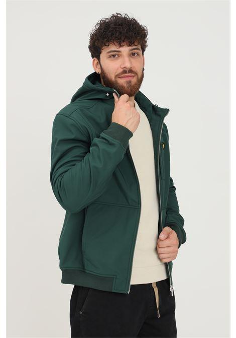 Giubbotto uomo verde scuro lyle & scott con cappuccio LYLE & SCOTT | Giubbotti | LSJK1214VJK1214VW486