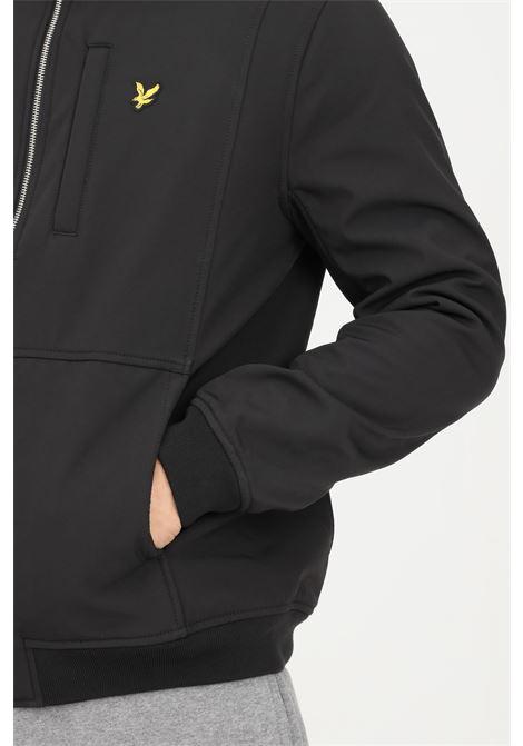 Giubbotto uomo nero lyle & scott con cappuccio LYLE & SCOTT | Giubbotti | LSJK1214VJK1214VZ865