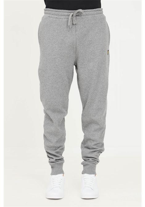 Pantaloni grey uomo Lyle & Scott basic con elastico in vita LYLE & SCOTT | Pantaloni | LSML1134VML1134VT28