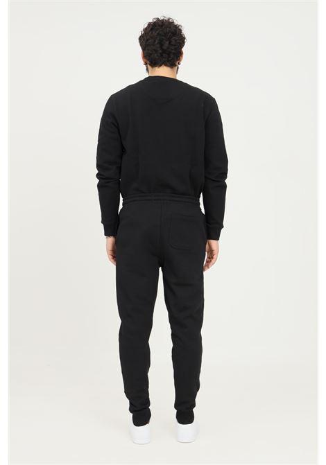 Pantaloni uomo nero lyle & scott basic con elastico in vita LYLE & SCOTT | Pantaloni | LSML1134VML1134VZ865