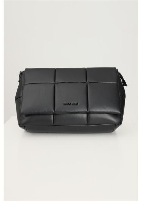 Black women's aida bag by marc ellis with removable shoulder strap and tone on tone logo application MARC ELLIS | Bag | AIDABLACK