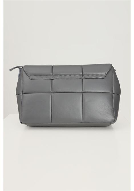 Grey women's aida bag by marc ellis with removable shoulder strap and tone on tone logo application MARC ELLIS | Bag | AIDACENERE