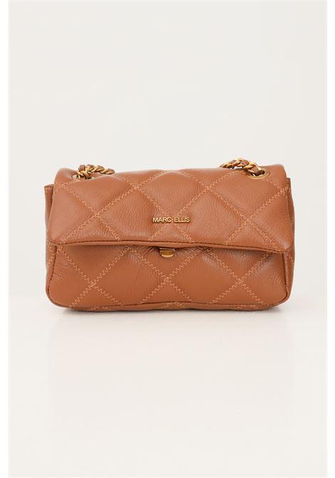 Cowhide women's ashlyn m bag by marc ellis with shoulder strap and contrasting stitching MARC ELLIS | Bag | ASHLYN MCUOIO