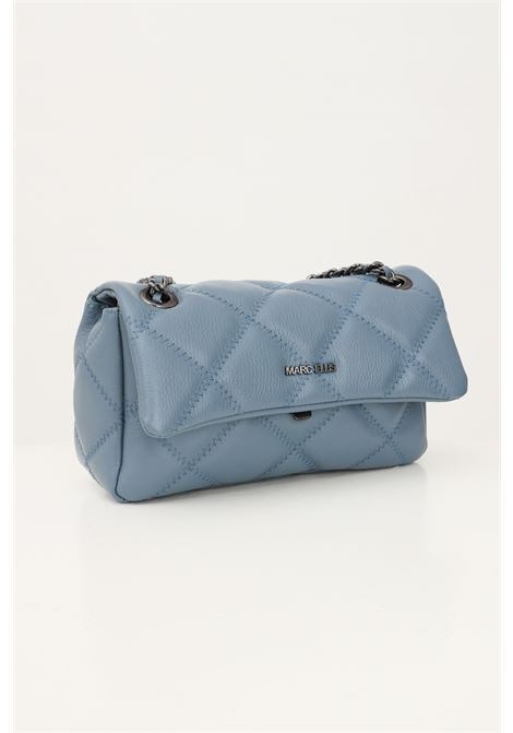 Light blue women's ashlyn m bag by marc ellis with shoulder strap and contrasting stitching MARC ELLIS | Bag | ASHLYN MSUGAR PAPER