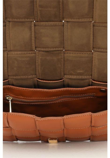 Cowhide women's carissa m bag by marc ellis with shoulder strap, quilted effect MARC ELLIS | Bag | CARISSA MCUOIO