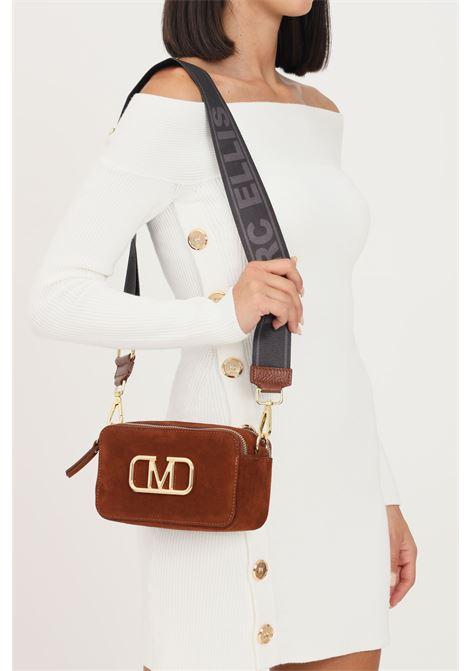 Brown women's diana m suede bag by marc ellis with shoulder strap MARC ELLIS | Bag | DAIANA M SUEDEBRUCIATO