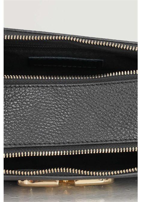 Black brown women's diana m bag by marc ellis with shoulder strap MARC ELLIS | Bag | DAIANA MBLACK/CUOIO