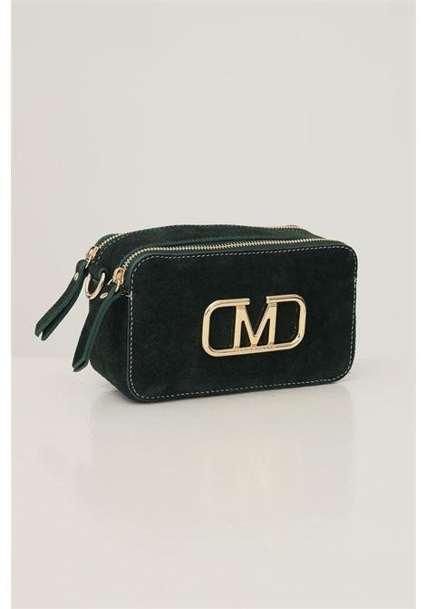 Green women's diana s suede bag by marc ellis with removable shoulder strap MARC ELLIS | Bag | DAIANA S SUEDEFORESTA