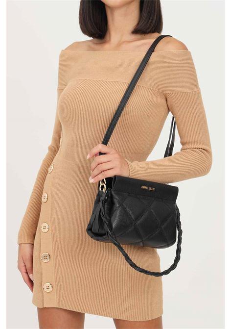 Black women's elizabeth s bag by marc ellis with shoulder strap MARC ELLIS | Bag | ELIZABETH SBLACK/GOLD