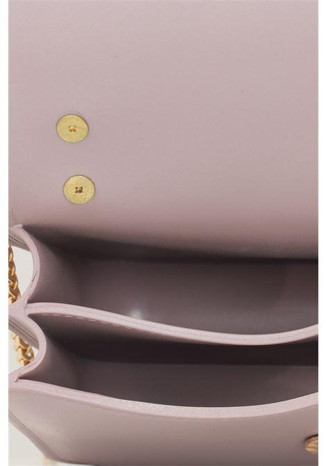 Nude women's flat padlock bag by marc ellis with double removable shoulder strap MARC ELLIS | Bag | FLAT PADLOCKNUDE