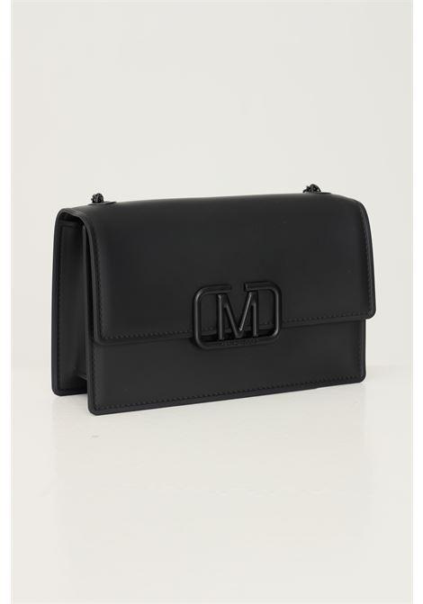 Black women's supermee m bag by marc ellis with chain shoulder strap MARC ELLIS | Bag | FLAT SUPERMEE MBLAC/BLACK