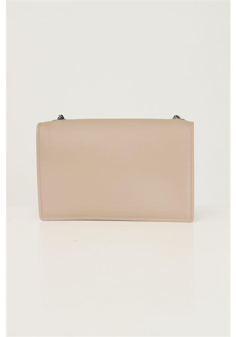 Beige women's supermee m bag by marc ellis with chain shoulder strap MARC ELLIS | Bag | FLAT SUPERMEE MTAUPE