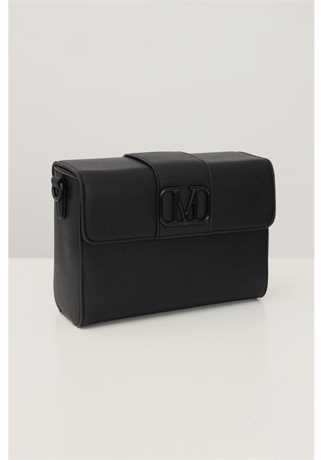 Black women's bag by marc ellis with tone on tone logo on the front MARC ELLIS | Bag | JAMYBLACK
