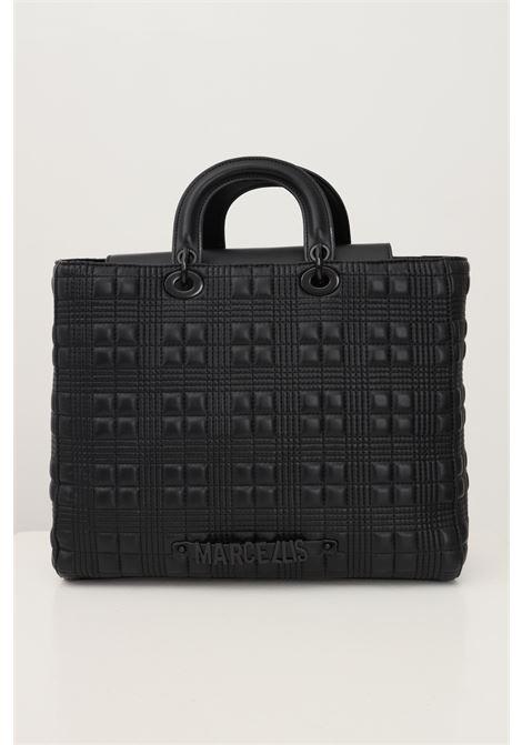 Black women's lilibeth l bag by marc ellis with shoulder strap MARC ELLIS | Bag | LILIBETH LBLACK