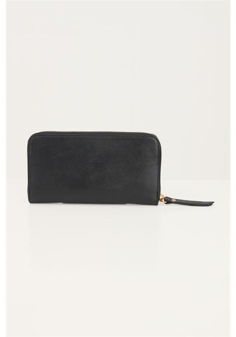 Black women's wallet by marc ellis with antique gold logo MARC ELLIS | Wallet | TRACYBLACK/GOLD