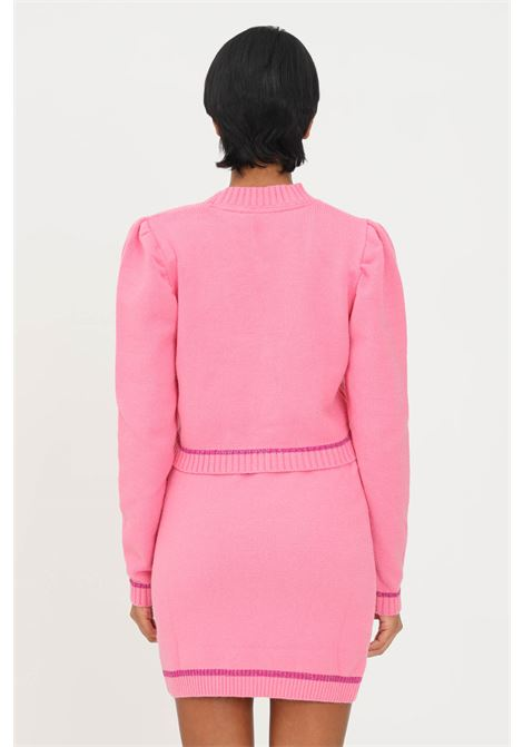 Cardigan rosa donna matilde couture con bottoni MATILDE COUTURE | Cardigan | MARGOT.ROSA