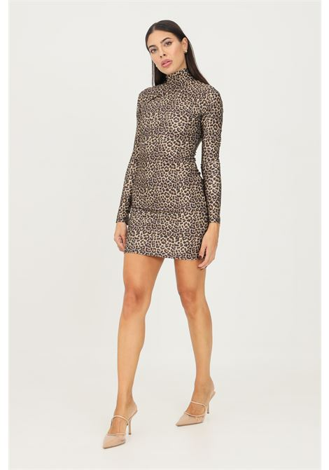 Spotted short dress by matinèe with high neck MATINèE | Dress | DP2002MACULATO