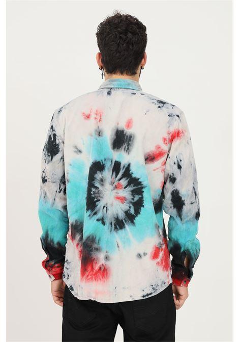 Multicolor men's shirt by mauna kea, casual model MAUNA-KEA | Shirt | MKE137_C2629GALAXY VELVET