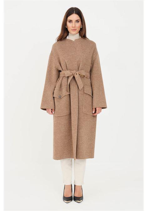 Cappotto donna cammello max mara MAX MARA | Cappotti | 60160419600008