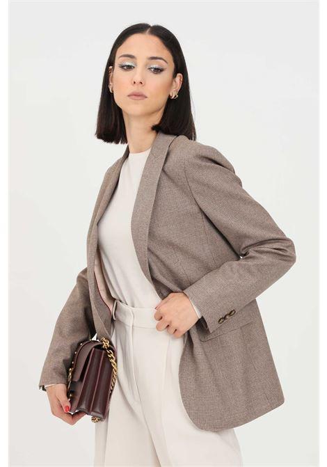 Giacca donna cammello max mara modello classico MAX MARA | Giacche | 60460313600025