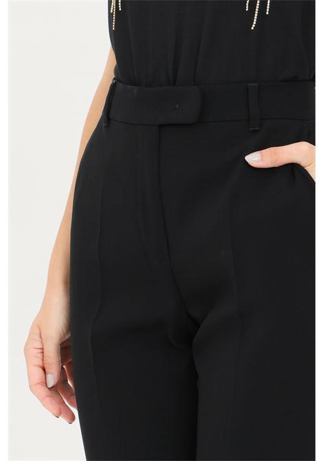 Pantaloni donna nero max mara eleganti regular MAX MARA | Pantaloni | 61360519600001