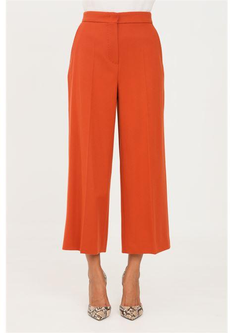 Pantaloni donna terracotta max mara elegante MAX MARA | Pantaloni | 61360613600006