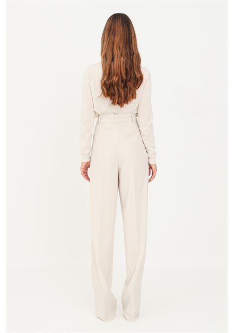 Pantaloni donna avorio max mara MAX MARA | Pantaloni | 61360619600012