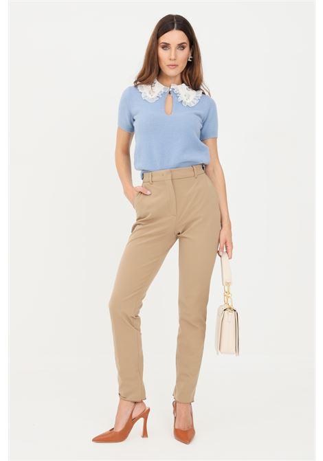 Pantaloni donna cammello max mara casual slim fit MAX MARA | Pantaloni | 61361019600002