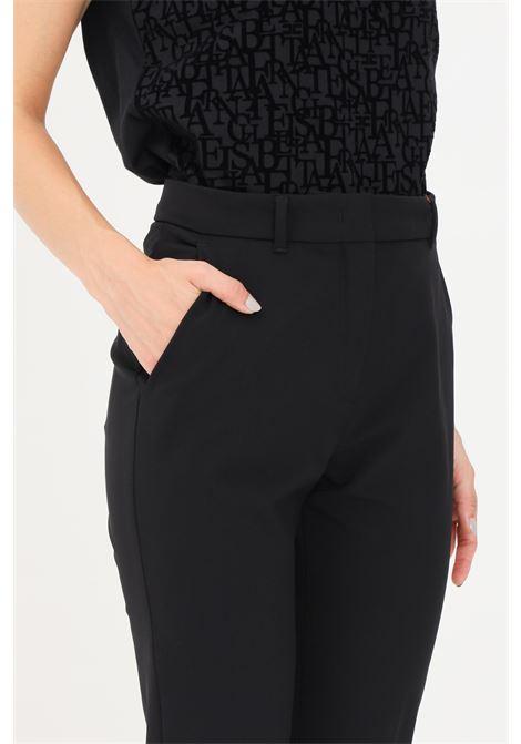 Pantaloni donna nero max mara casual slim fit MAX MARA | Pantaloni | 61361019600003