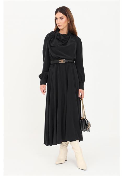 Black women's dress by max mara long model  MAX MARA | Dress | 62260319600002