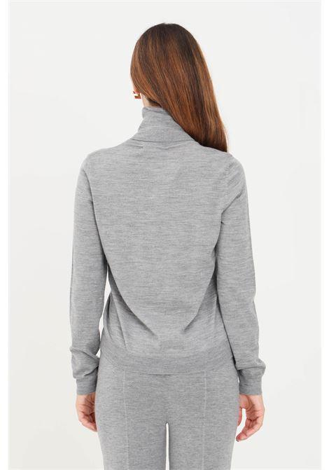 Maglioncino donna collo alto grigio max mara MAX MARA | Maglieria | 63661119600001