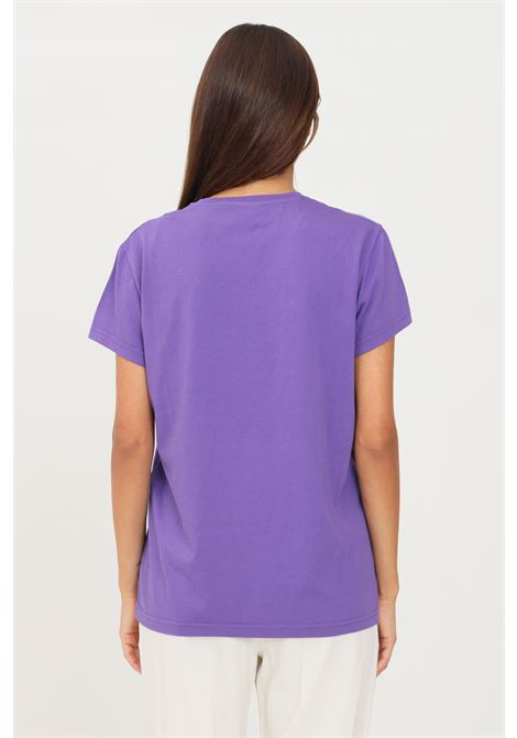 Lilac women's t-shirt by missoni with front M print, short sleeve MISSONI | T-shirt | 2DL0010793642