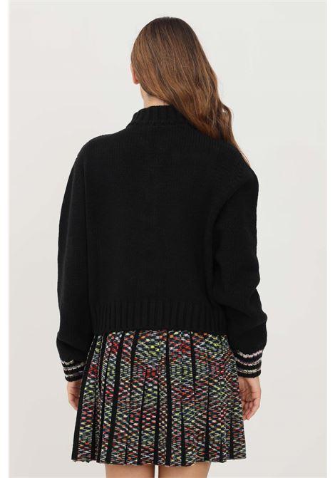 Black women's cardigan by missoni with zip MISSONI | Cardigan | 2DM00176S90KM
