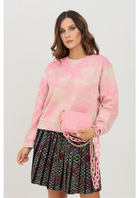 Pink women's sweatshirt by missoni, crew neck MISSONI | Sweatshirt | 2DW00015S3095