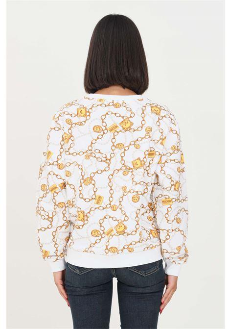 Fantasy women's sweatshirt by moschino with allover print, crew neck model MOSCHINO | Sweatshirt | A170890081001