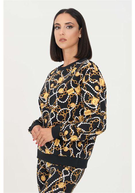 Fantasy women's sweatshirt by moschino with allover print, crew neck model MOSCHINO | Sweatshirt | A170890081555