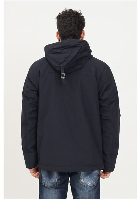 Blue men's bomber jacket by napapijri with hood NAPAPIJRI | Jacket | NP0A4EGZ17611761