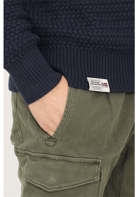 Blue men's sweater by napapijri with high neck NAPAPIJRI | Knitwear | NP0A4FMB17611751