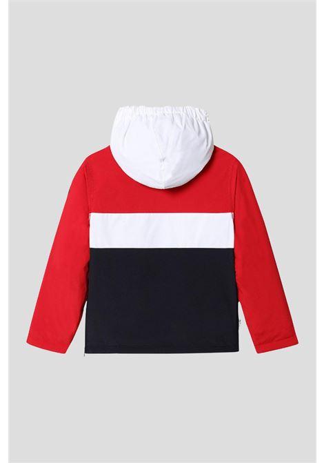 Red baby rainforest jacket by napapijri NAPAPIJRI | Jacket | NP0A4FOQ17611761