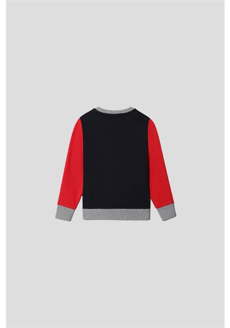 Baby sweatshirt by napapijri with maxi contrasting logo NAPAPIJRI | Sweatshirt | NP0A4FOU17611761