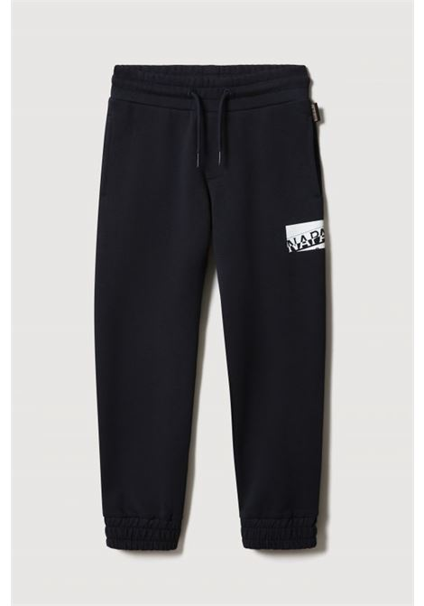 Black baby trousers by napapijri with contrasting logo NAPAPIJRI | Pants | NP0A4FP217611761