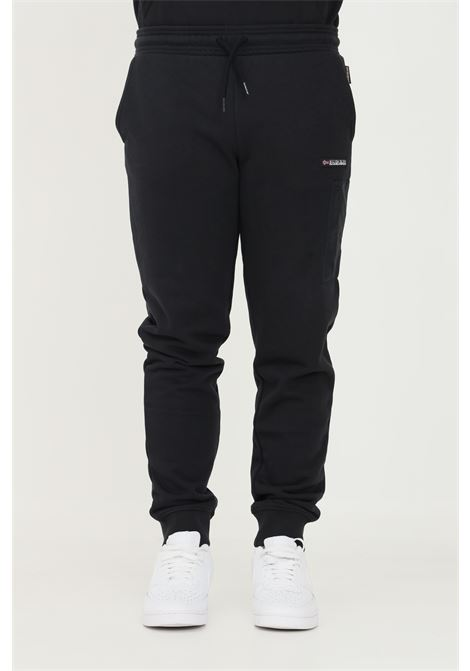 Black men's trousers by napapijri, casual model with elastic waistband NAPAPIJRI | Pants | NP0A4FR104110411