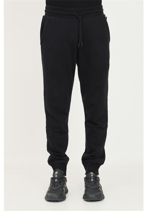 Black men's trousers by napapijri, casual model with embroidered logo on the back NAPAPIJRI | Pants | NP0A4FR704110411